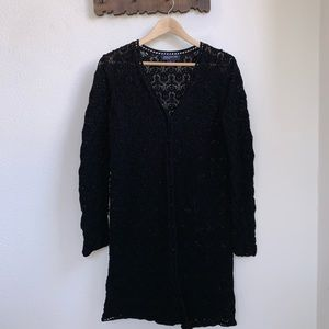 Jones New York | Crochet Cardigan